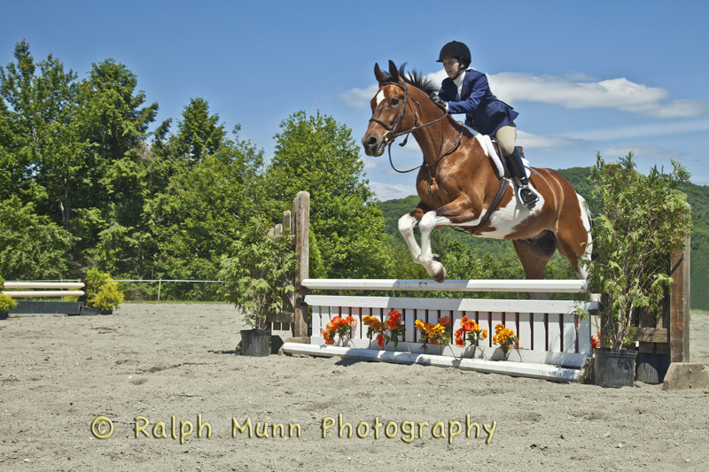 Jumping At Biscuit Hill Farm, Shelburne MA